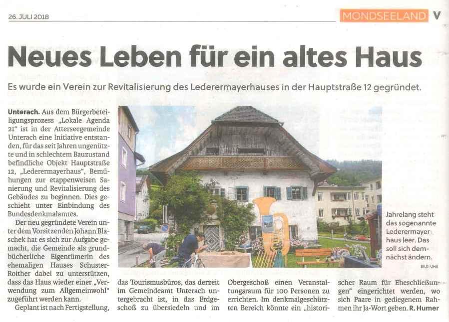 Flachgauer Nachrichten_Screenshot